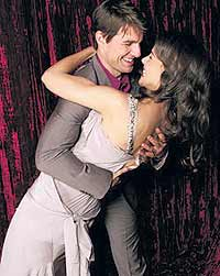 Tom Cruise Katie Holmes and