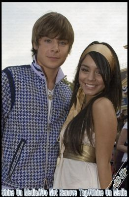 Vanessa Hudgens Zac Efron and Vanessa Anne Hudgens