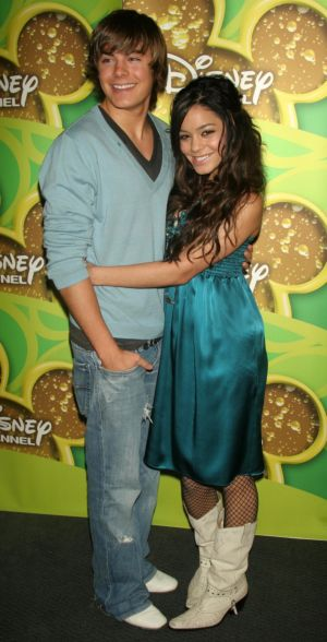 Zac Efron and Vanessa Anne Hudgens
