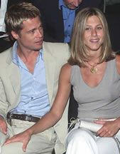 Jennifer Aniston Brad Pitt and
