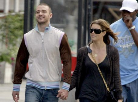 Jessica Biel Justin Timberlake and