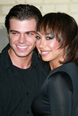 Matthew Lawrence  and Cheryl Burke