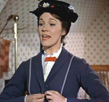 Julie Andrews  in Mary Poppins (1964)