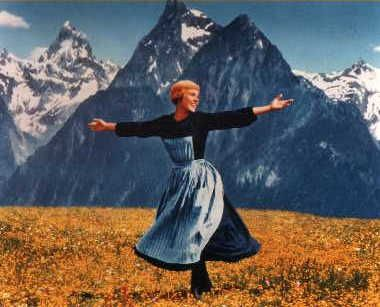 Julie Andrews  as Maria in The Sound of Music (1965)