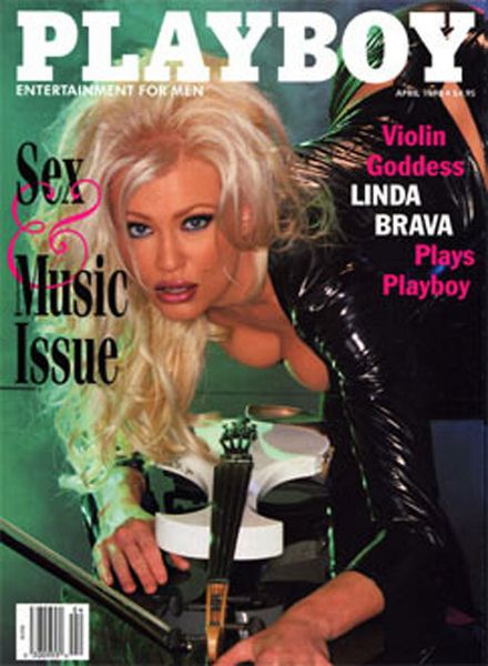 Linda Lampenius on Playboy Mag