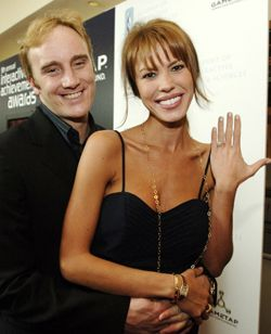 Nikki Cox and Jay Mohr