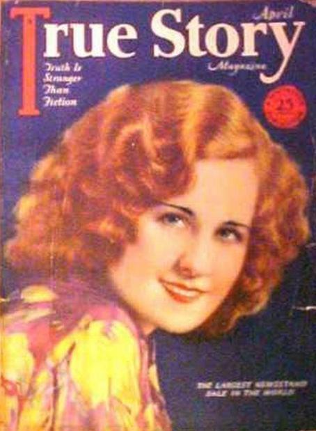 Norma Shearer - True Story Magazine [United States] (April 1928)