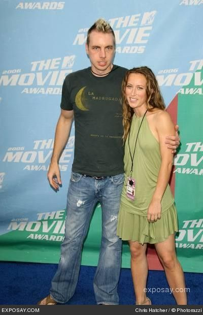 Dax Shepard  & Shauna Robertson at the 2006 MTV Awards