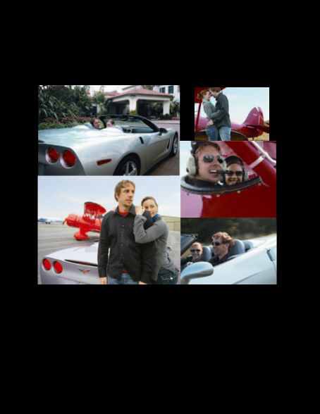 Dax Shepard  & his ex-gfriend Briegh at a Corvette mag shoot '05