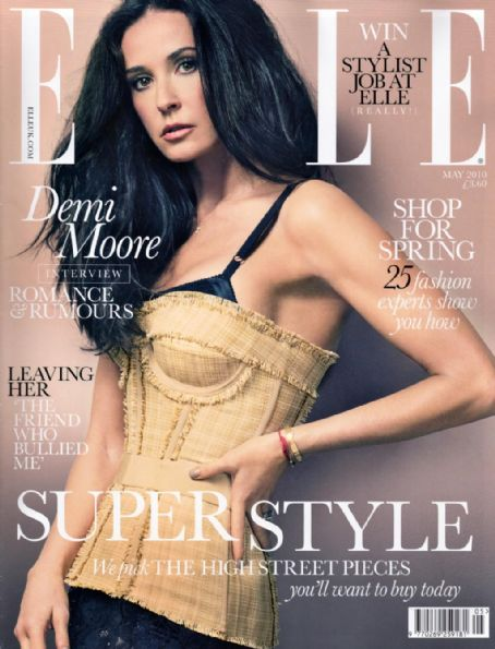 Demi Moore - Elle Magazine [United Kingdom] (May 2010)