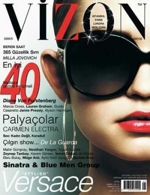 Vizon Magazine Cover [Turkey] (May 2006)