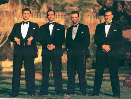 Patrick Dempsey , Richard Grieco, Christian Slater and Costas Mandylor  in Mobster (1991)