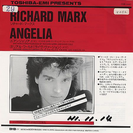 Richard Marx - Arrivals