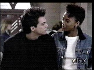 21 Jump Street Holly Robinson Peete and Richard Grieco in  (1987)