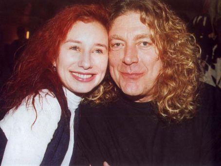 Tori Amos  and Robert Plant circa 1995