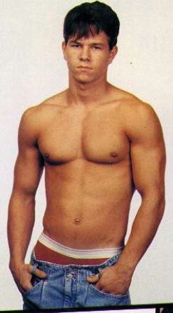 Mark Wahlberg back in the day but still just as sexy today