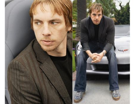 Dax Shepard  in corvette mag article '05