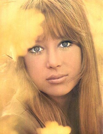 Pattie Boyd  modeling shot 1966