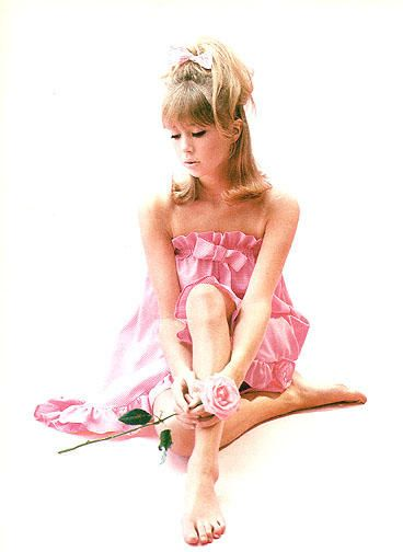Pattie Boyd  circa 1964, shot by David Bailey