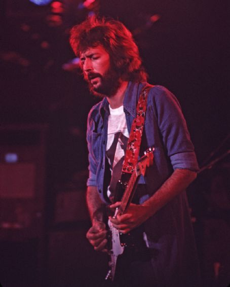 Eric Clapton  in 1975, photos from Flickr