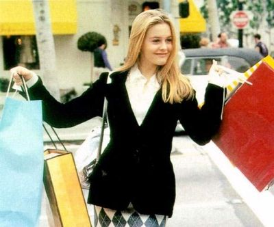 Clueless Alicia Silverstone in  (1995)