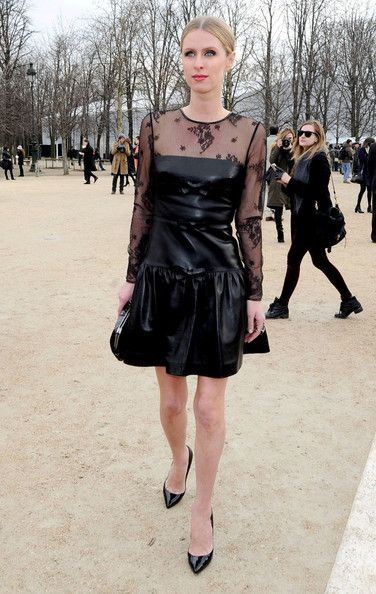 Nicky Hilton Valentino Fall/ Winter 2012-2013 fashion show during Paris Fashion Week