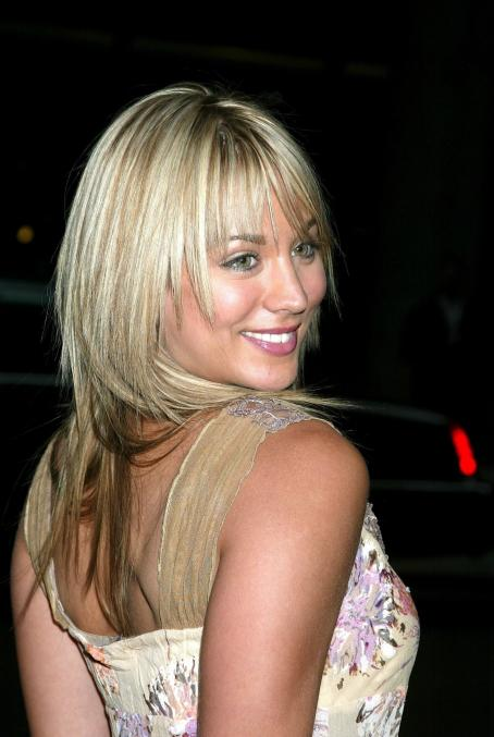 Kaley Cuoco - ABC Primetime Line-up Preview - After Party At Cipriani's On May 13, 2003 In New York City