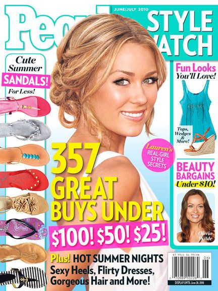 Lauren Conrad - People Style Watch Magazine Cover [United States] (June 2010)