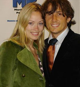 Olivia Wilde  and Tao Ruspoli
