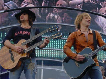 Jon Bon Jovi Richie Sambora and