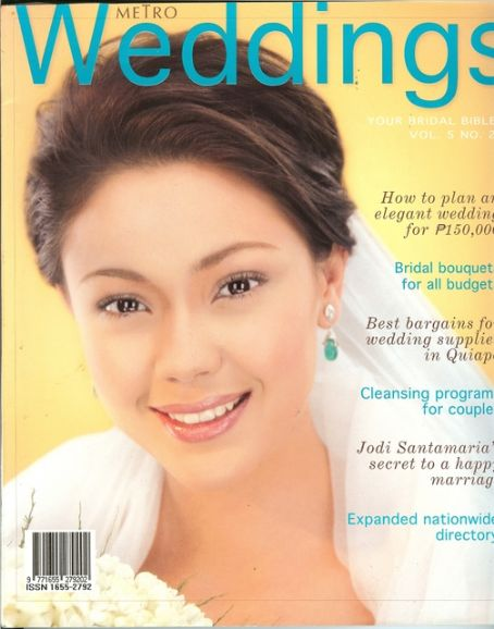 Jodi Sta_ Maria Wedding Pictures http://www.whosdatedwho.com/tpx_5245258/metro-weddings-magazine-philippines-july-2005/