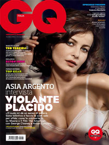 Violante Placido  GQ Italy December 2009
