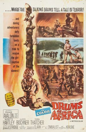 Drums of Africa (1963) Poster