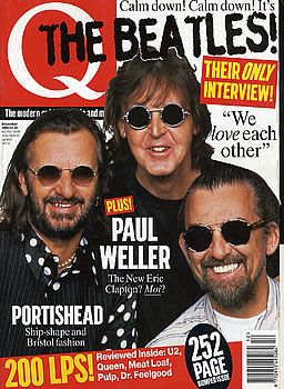 George Harrison - Q Magazine [United Kingdom] (December 1995)