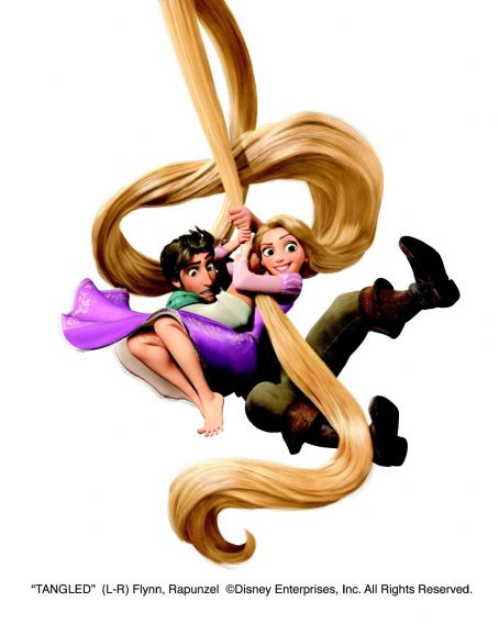 Rapunzel (L-R) Flynn (Zachary Levi),  (Mandy Moore). ©Disney Enterprises, Inc. All Rights Reserved.