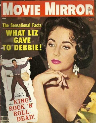 Elizabeth Taylor - Movie Mirror Magazine [United States] (June 1960)