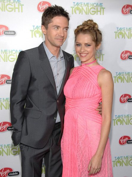 Teresa Palmer and Topher Grace