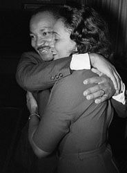 Martin Luther King and Coretta Scott King