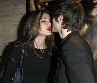 Charlotte Casiraghi  and Gaspard Ulliel