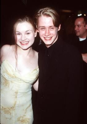 Macaulay Culkin and Rachel Miner