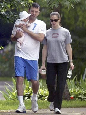 Jennifer Garner Ben Affleck and