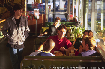 Can't Hardly Wait Charlie Korsmo and Peter Facinelli in Columbia's Can't Hardly Wait - 1998