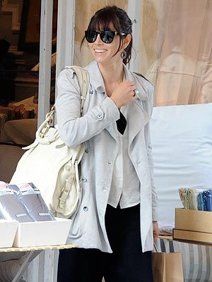 Jessica Biel Wedding Dress Shops in Paris