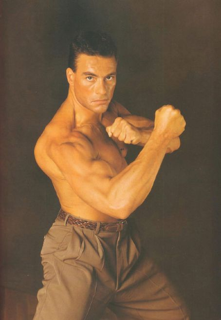 Jean-Claude Van Damme  in Kickboxer Photoshoot (1989)
