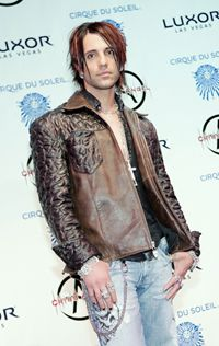 Criss Angel Premiere shot at the Luxor