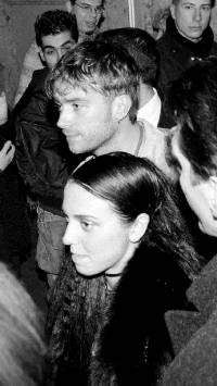 Damon Albarn  and Melanie Chisholm