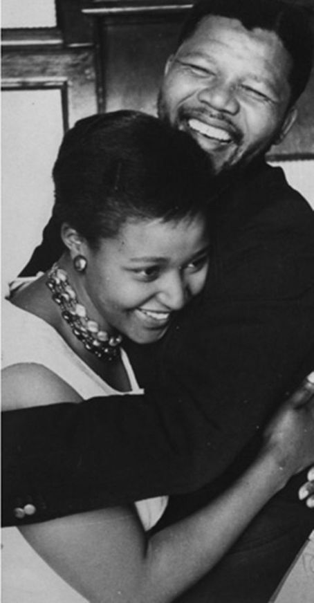 Winnie Mandela  and Nelson Mandela