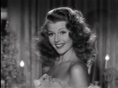Rita Hayworth  in Gilda (1946)