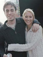 Enrique Iglesias Anna Kournikova and
