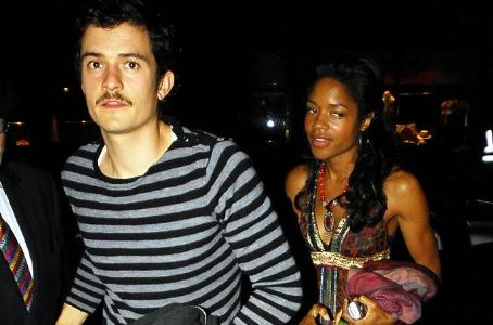 Orlando Bloom  and Naomie Harris